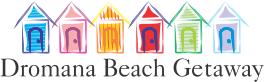 Dromana beach getaway beach logo